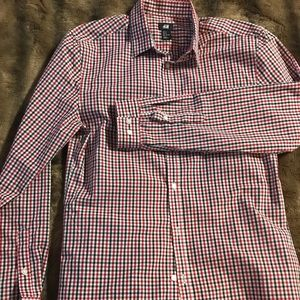 Men's H&M Button Up Gingham